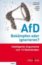 AfD – Bekämpfen oder ignorieren? (ebook)