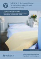 Intervención en la atención sociosanitaria en instituciones. SSCS0208 (ebook)