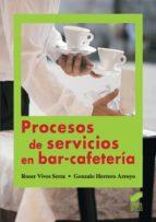 Procesos de servicios en bar-cafetería (ebook)