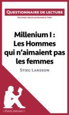 Millenium I : Les Hommes qui n'aimaient pas les femmes de Stieg Larsson (ebook)