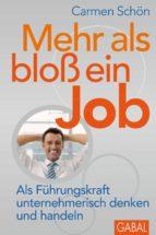 Mehr als bloß ein Job (ebook)