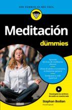 Meditación para Dummies (ebook)