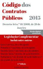 Código dos Contratos Públicos (2015) (ebook)