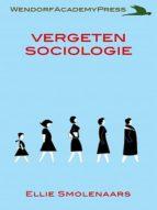 VERGETEN SOCIOLOGIE