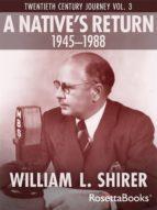 A Native's Return, 1945-1988 (ebook)