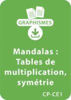 Mandalas d'apprentissage CP/CE1 - Tables de multiplication / Symétrie (ebook)