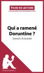 Qui a ramené Doruntine ? d'Ismaïl Kadaré (Fiche de lecture) (ebook)