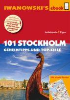 101 Stockholm - Geheimtipps und Top-Ziele (ebook)