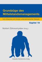 Grundzüge des Mittelstandsmanagements - Kapitel 18 (ebook)