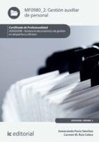 Gestión auxiliar de personal. ADGG0308 (ebook)