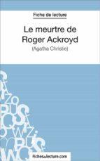 Le meurtre de Roger Ackroyd (ebook)