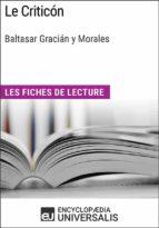 Le Criticón de Baltasar Gracián y Morales (ebook)