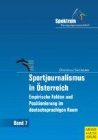 Sportjournalismus in Österreich