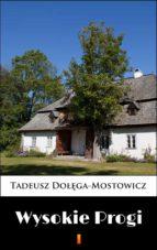 Wysokie Progi (ebook)
