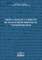 Genética y edición de manuscritos hispánicos contemporáneos (ebook)