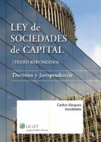 Ley de Sociedades de Capital (ebook)