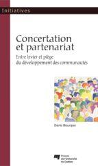 Concertation et partenariat (ebook)