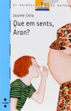 Que em sents, Aran? (eBook-ePub) (ebook)