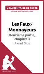 Les Faux-Monnayeurs d'André Gide - Deuxième partie, chapitre 3 (ebook)