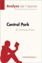Central Park de Guillaume Musso (Analyse de l'oeuvre) (ebook)
