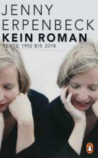 Kein Roman (ebook)