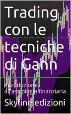 Trading con le tecniche di Gann (ebook)