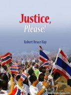 Justice, Please! (ebook)