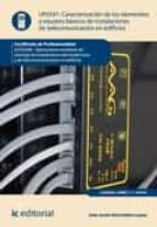 Caracterización de los elementos y equipos básicos de instalaciones de telecomunicación en edificios. ELES0208  (ebook)