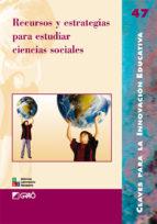 Recursos y estrategias para estudiar ciencias sociales (ebook)