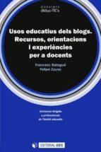 Usos educatius dels blogs (ebook)