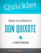 QUICKLET ON MIGUEL DE CERVANTES' DON QUIXOTE
