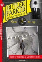 Butler Parker 143 – Kriminalroman (ebook)