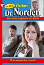 CHEFARZT DR. NORDEN 1135 ? ARZTROMAN