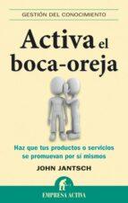 Activa el boca oreja (ebook)