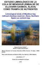 Estudio limnológico de la cola de mendixur (embalse de Ullivarri-Ganboa, Álava) como trampa de nutrientes (ebook)