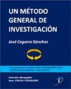 Un método general de investigación (ebook)