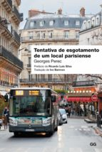 Tentativa de esgotamento de um local parisiense (ebook)