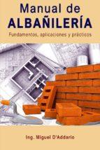 MANUAL DE ALBAÑILERÍA (ebook)