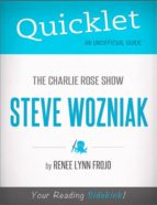 QUICKLET ON THE CHARLIE ROSE SHOW: STEVE WOZNIAK (CLIFFNOTES-LIKE SUMMARY)