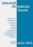 Zeitschrift für kritische Theorie (ebook)