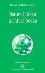 Natura ludzka a natura boska (ebook)