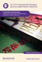 Estampación de tapas para encuadernación industrial. ARGC0110  (ebook)
