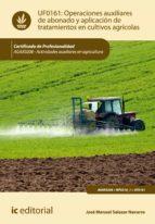Operaciones auxiliares de abonado y aplicación de tratamientos en cultivos agrícolas. AGAX0208