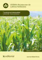 Recolección de cultivos herbáceos. AGAC0108 (ebook)