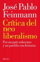 Crítica del neoliberalismo (ebook)