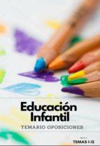 TEMARIO OPOSICIONES AL CUERPO DE MAESTROS DE EDUCACIÓN INFANTIL. PARTE 1 (ebook)