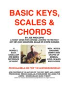 Basic Keys, Scales and Chords (ebook)