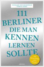 111 Berliner, die man kennen sollte (ebook)