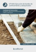 Ejecución de bordes de confinamiento y adoquinados. EOCB0209 (ebook)