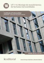 Montaje de revestimientos de fachadas transventiladas. IEXD0409